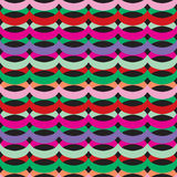 Abstract Kaleidoscope  bright Seamless pattern Stock Image