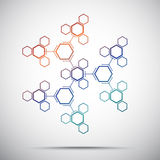 Abstract kaleidoscope Stock Photography