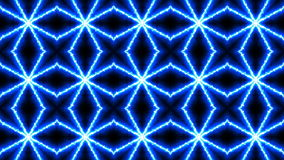Abstract kaleidoscope. 3d rendering technology background stock video