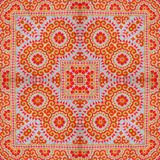 Abstract kaleidoscope or endless pattern. Stock Image
