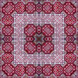 Abstract kaleidoscope or endless pattern. Royalty Free Stock Photography