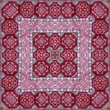 Abstract kaleidoscope or endless pattern. Royalty Free Stock Image