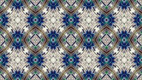 Abstract kaleidoscope looping background stock video