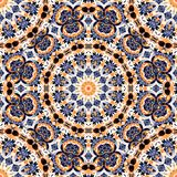 Abstract kaleidoscope mandala pattern design Stock Photos