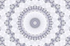 Abstract kaleidoscope pattern background royalty free stock photography