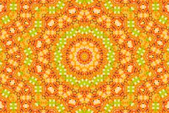 Abstract kaleidoscope pattern background stock photo