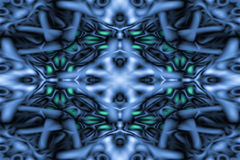 Abstract kaleidoscope pattern Royalty Free Stock Photos