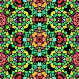 Abstract kaleidoscopic background texture Royalty Free Stock Image