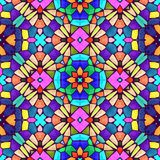 Abstract kaleidoscopic background texture Royalty Free Stock Photo