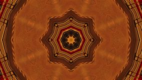 Abstract Kaleidoscopic Looping Video Background stock video