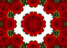 Abstract kaleidoscopic pattern Royalty Free Stock Image