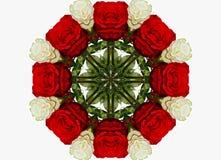 Abstract kaleidoscopic pattern Stock Image
