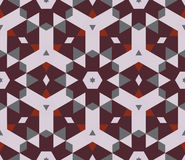 Abstract  kaleidoscopic pattern Royalty Free Stock Photos