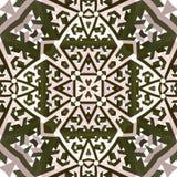 Abstract kaleidoscopic pattern Stock Photography