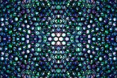 Abstract kaleidoscopical picture Royalty Free Stock Photos