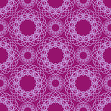 Abstract kant spirograph patroon Vector Illustratie