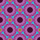 Abstract kant spirograph patroon Royalty-vrije Illustratie