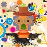 Abstract karakter Stock Afbeelding