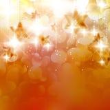 Abstract Kerstmis bokeh licht. Royalty-vrije Stock Foto