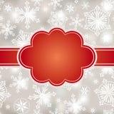Abstract Kerstmisframe Royalty-vrije Stock Afbeelding