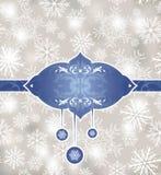 Abstract Kerstmisframe Royalty-vrije Stock Foto's