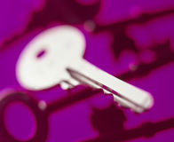 Abstract key Royalty Free Stock Photo