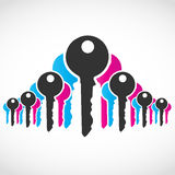 Abstract Key Concept Royalty Free Stock Image