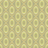 Abstract Khaki pattern from ovals Stock Images