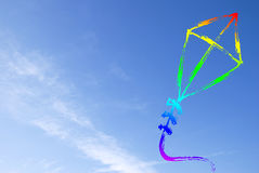 Abstract kite Stock Photography