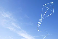 Abstract kite background Royalty Free Stock Image