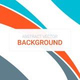 Abstract kleuren modern ontwerp als achtergrond Vector vlak ontwerp Royalty-vrije Stock Foto's