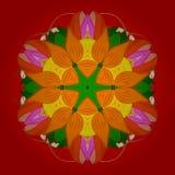 Abstract kleurenbeeld royalty-vrije illustratie