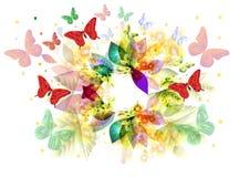Abstract kleurenframe Royalty-vrije Stock Afbeelding