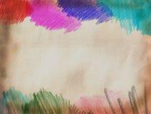 Abstract kleurenpotlood Royalty-vrije Stock Fotografie