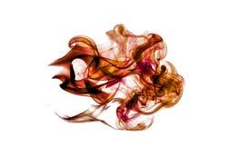 Abstract Kleurrijk Artistiek Krachtig Rookeffect vector illustratie