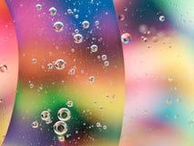 Abstract kleurrijk behang Stock Afbeelding