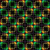 Abstract kleurrijk bellenpatroon Achtergrond van de tegel de veelkleurige textuur Naadloze vector royalty-vrije illustratie