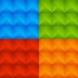 Abstract Kleurrijk Beslagen Patroon, Achtergrondreeks royalty-vrije illustratie