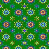 Abstract kleurrijk bloemenpatroon De achtergrond van de textuur Stock Foto