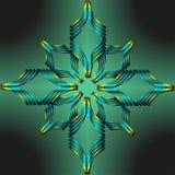 Abstract kleurrijk cijfer vector illustratie