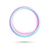 Abstract kleurrijk cirkelsymbool royalty-vrije illustratie