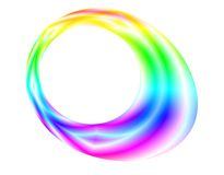 Abstract kleurrijk ei royalty-vrije illustratie