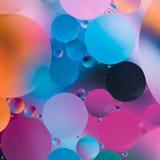 Abstract kleurrijk experiment Royalty-vrije Stock Foto