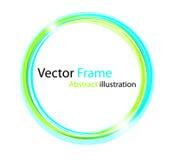 Abstract kleurrijk frame Royalty-vrije Stock Afbeelding