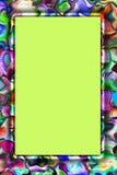 Abstract kleurrijk frame Royalty-vrije Illustratie