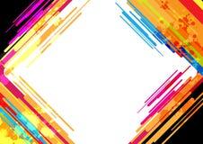 Abstract kleurrijk frame ontwerp Vector Illustratie