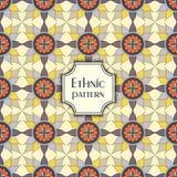 Abstract kleurrijk geometrisch naadloos patroon Bloementextuur als achtergrond Royalty-vrije Stock Fotografie
