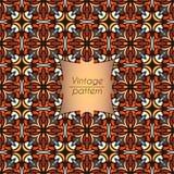 Abstract kleurrijk geometrisch naadloos patroon Bloementextuur als achtergrond Stock Afbeelding