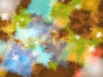 Abstract kleurrijk kunstontwerp als achtergrond royalty-vrije illustratie