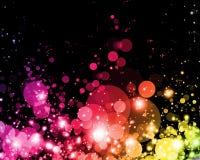 Abstract kleurrijk licht Royalty-vrije Stock Afbeeldingen